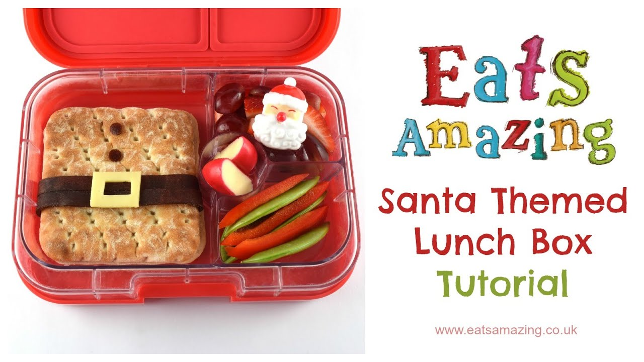 Christmas Food Art How to make a Santa Sandwich Ad YouTube