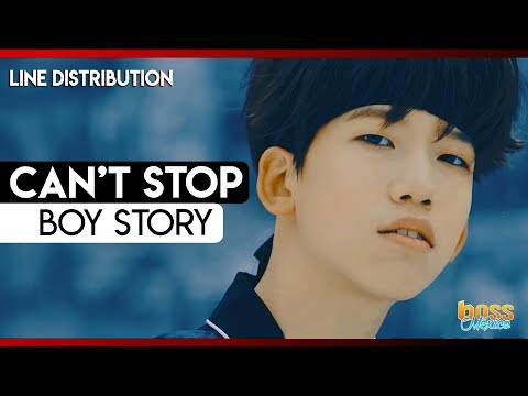 BOY STORY - Can't Stop (Line Distribution)
