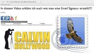 Email Signatur erstellen (Mac Mail)