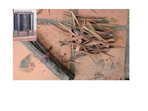 Khmer Eco energy stove in practice
