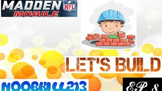 Madden Mobile Lets Build Ep. 8 400K Pack Opening