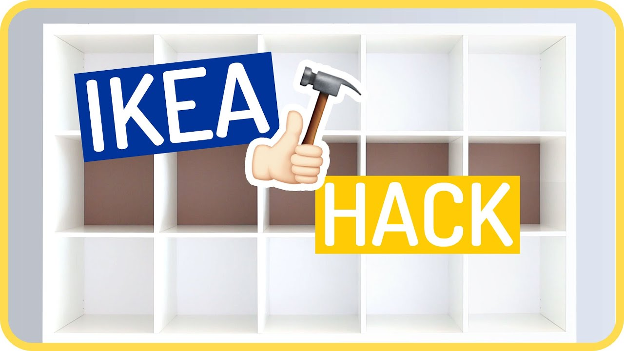 ikea kallax hack by sissi - youtube