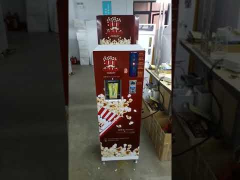 automatic popcorn machine HM PC 18, popcorn vending machine