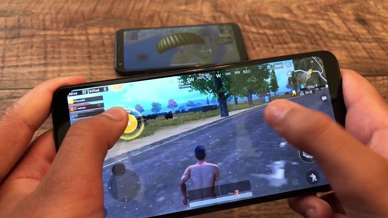 LG STYLO 4 vs LG Q7 Plus GAMING - PUBG GAMEPLAY