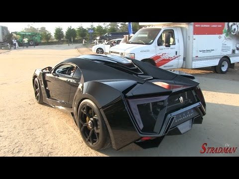 Monterey Supercar Week Part 2: LaFerrari, Koenigsegg One:1, Lykan Hypersport!