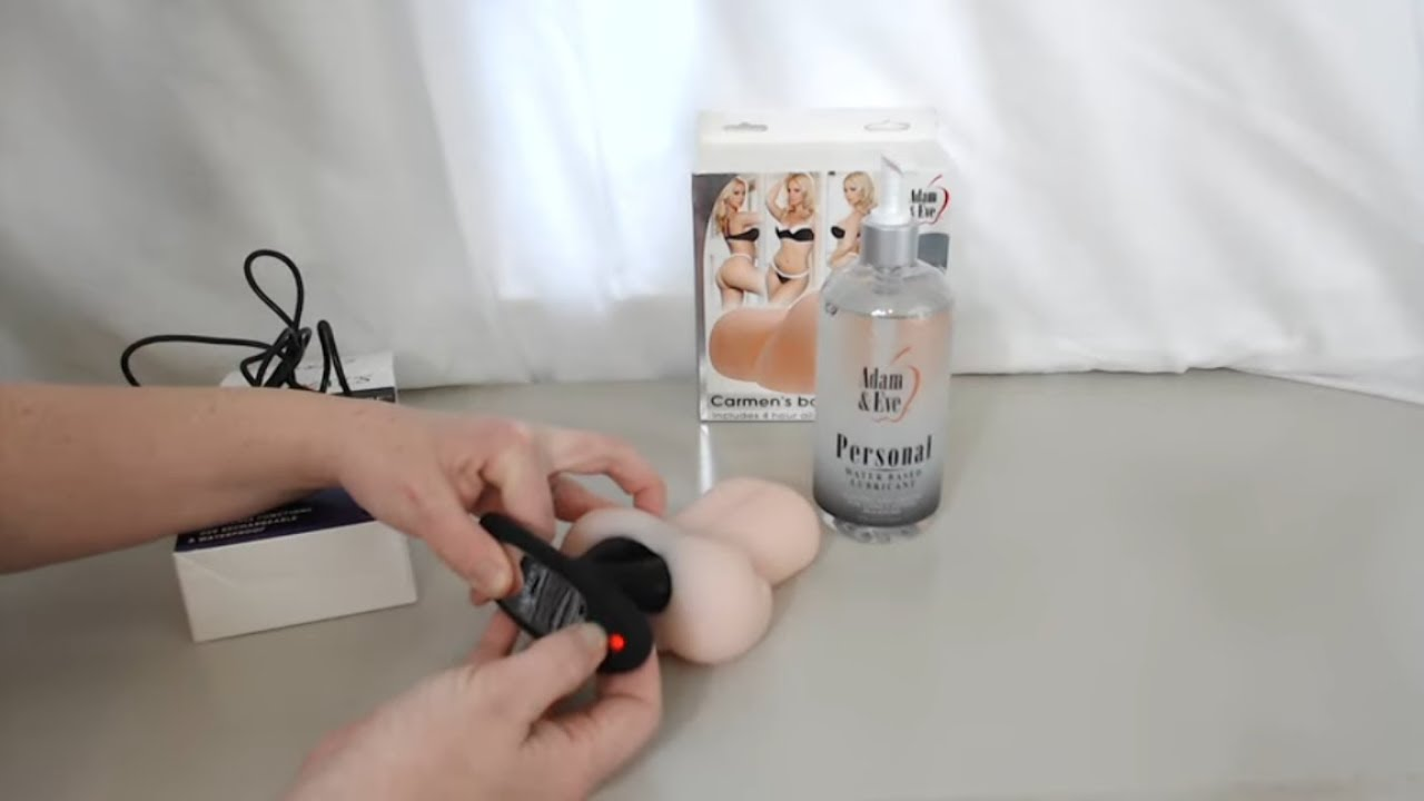How To Use a Wireless Butt Plug? | Anal Butt Plug Vibrator Review and Product Demonstration
