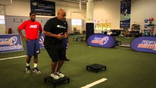 Strength and Conditioning : Low Box Drills