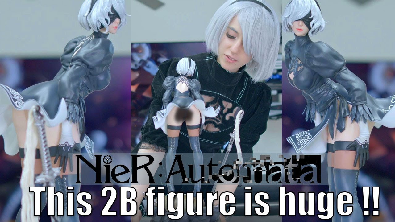 Unboxing this mysteriously large and rare 2B figure