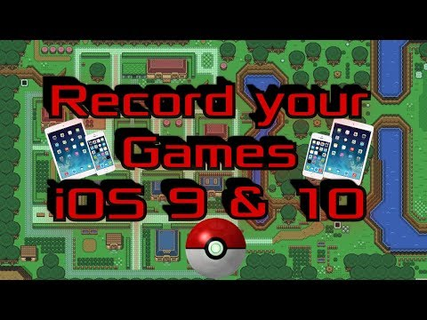 How to Record iOS 10 screen no Jailbreak | iPhone and iPad Gaming.