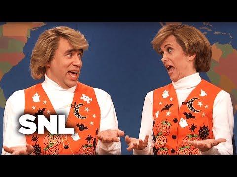 Weekend Update: Garth and Kat Sing Halloween Songs - SNL