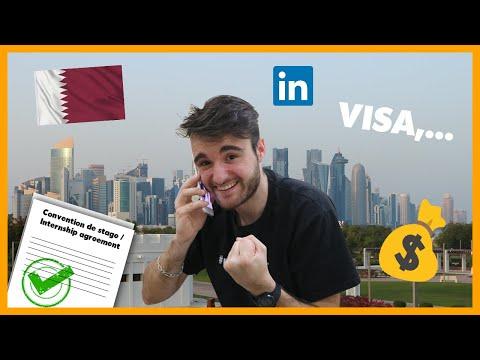 COMMENT TROUVER UN STAGE AU QATAR 🇶🇦? Conseils, Linkedin, visa, CV, salaire, bourses,...