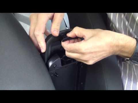 Доработка штатного подлокотника Chevrolet Cruze