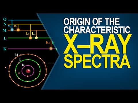 Origin of the Characteristic X–ray spectra