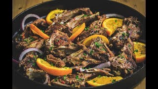 Iftar With Chef Stone Day 26 - Orange Harissa Lamb Chops