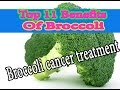 Top 11 Benefits Of Broccoli.Broccoli cancer treatment.Doctor Child