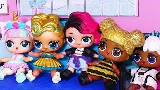 Brincando com a Casinha de Boneca LOL Surpresa e Festa do Pijama -Brinquedonovelinhas