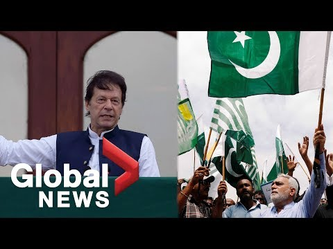 Download Lagu  Pakistan PM leads demonstration over Kashmir as thousands hold anti-India rally Mp3 Free