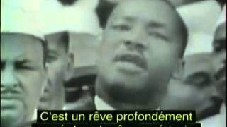 Martin Luther King I have a dream sous titres français