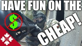 Cheap Gun Lots Of Fun!    Canadian Airsoft