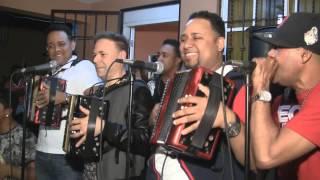 Cuarteto En Cacique Moncion 2015) El Prodigio, Nixon Roman Y Raul Roman Tocando A 3 Acordeones