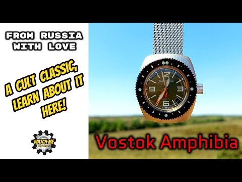 Vostok Amphibia. A Russian Legend, Explored In More Detail.