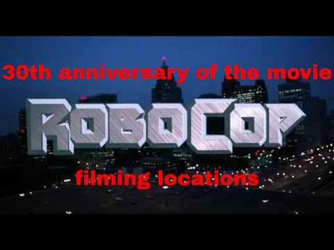 Visiting filming locations of Robocop on it's 30th anniversary