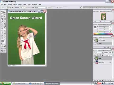 Photoshop Plugin for Green Screen Wizard