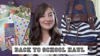 Back to school: HAUL przybory szkolne    Powrót do szkoły