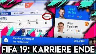 FIFA 19 : Das ENDE des KARRIEREMODUS 2033 !!! 🔥 Spieler Vereine Regens 😱