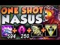 WACK-A-MOLE NASUS BUILD! ONE SHOT EVERY ENEMY! NASUS SEASON 8 TOP GAMEPLAY! - League of Legends