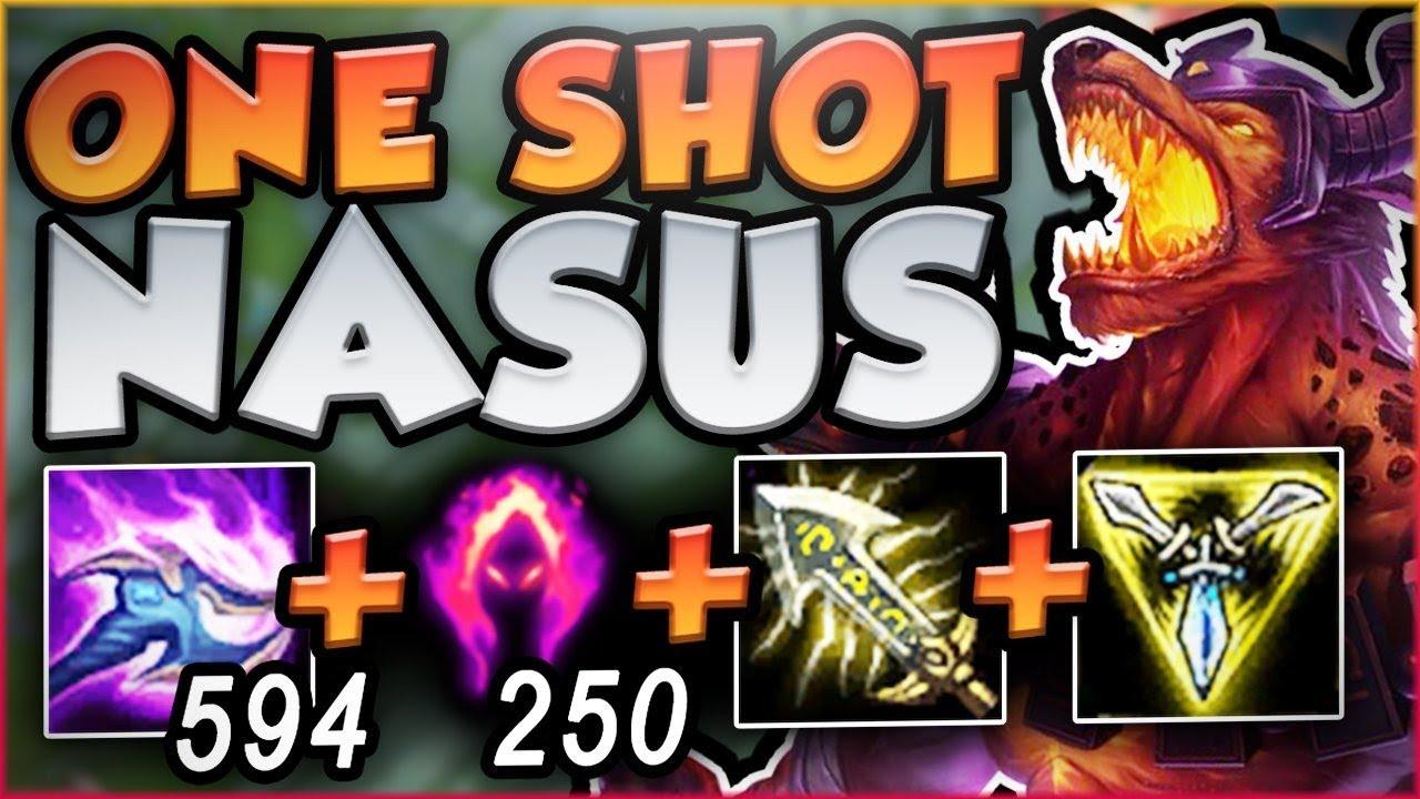 Wack A Mole Nasus Build One Shot Every Enemy Nasus Season 8 Top