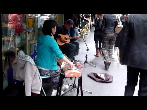 Awesome Jam in Melbourne on Flinders Lane