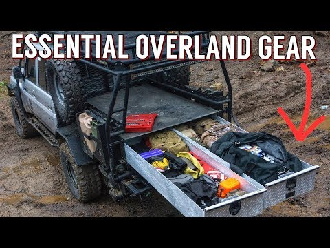 Essential Overland Expedition Vehicle Camping Gear