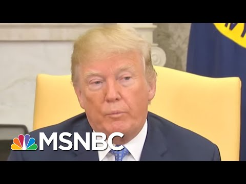 President Donald Trump On House Intel Report: 'Like I Said No Collusion'   Andrea Mitchell   MSNBC
