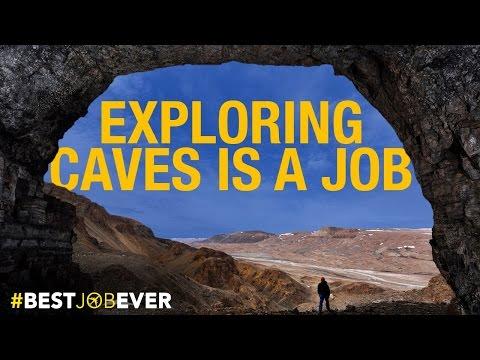 Exploring Super-Remote Caves in Greenland: #bestjobever