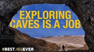Exploring Super-Remote Caves In Greenland: #bestjobever