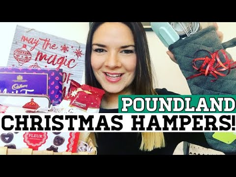7 Poundland Gift and Christmas Hamper ideas for under £7