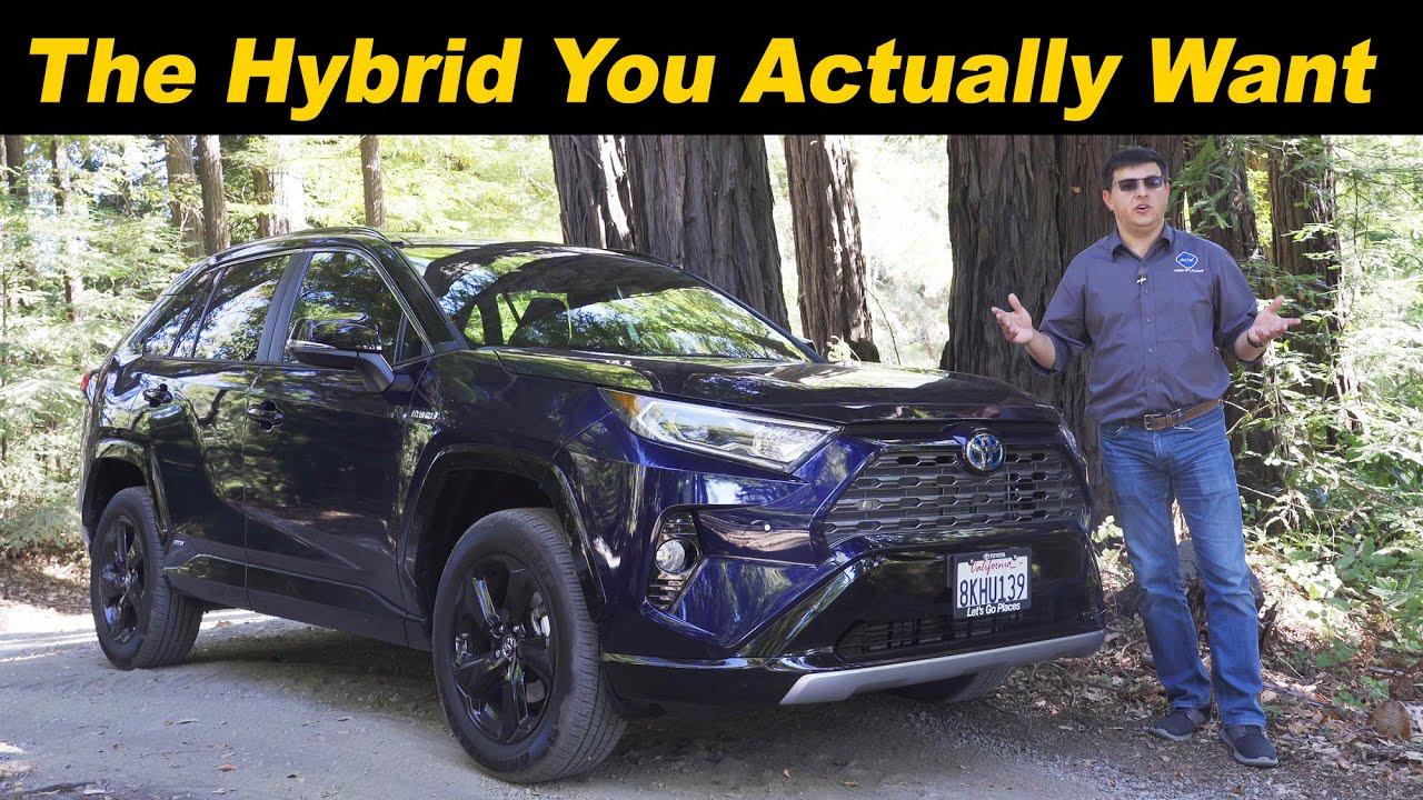 Toyota rav4 2020 test