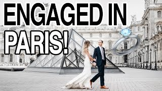 ENGAGED IN PARIS: OUR ENGAGEMENT VIDEO!