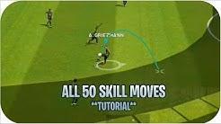 Tutorial Dribling & skill Sombrero Pes 2019 mobile |HD|
