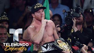 Las declaraciones de Canelo Álvarez tras vencer a GGG | Boxeo Telemundo | Telemundo Deportes