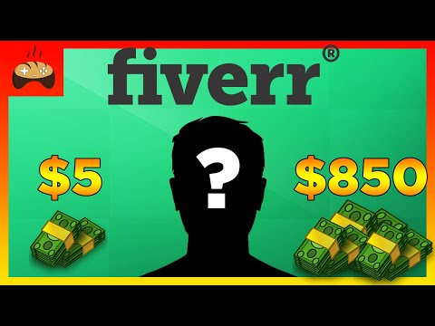 I Paid 3 Artists on FIVERR to Make me a Logo + Face Reveal