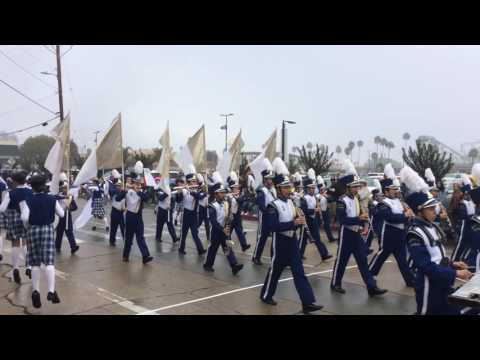 Benicia Middle School Viking Band- Santa Cruz Band Review 2016