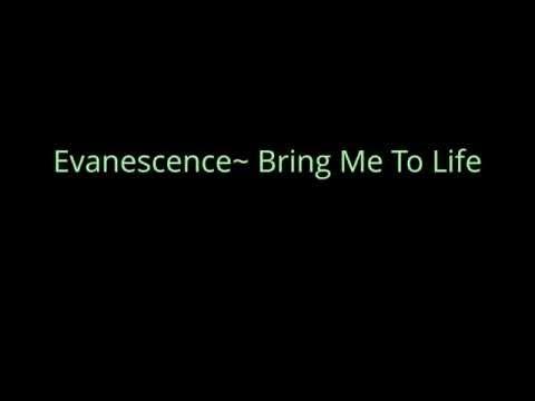 Bring Me To Life By Evanescence..(Lyrics/Lyrics Link In Description)