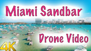 Haulover Sandbar | Miami | Drone video 4K