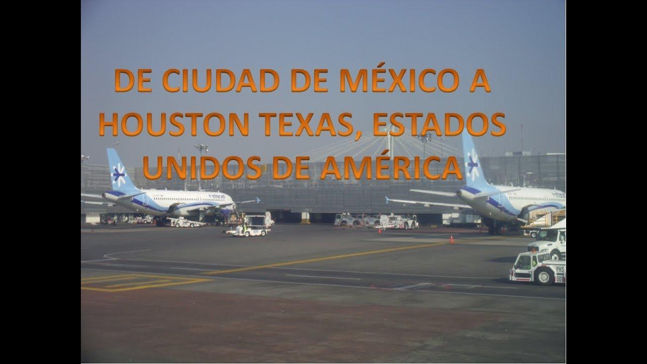 En camino a houston texas estados unidos desde el for Puerta 6 aeropuerto ciudad mexico