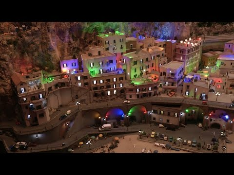 The Beautiful Italy Model Railway Layout - State of the Art of Model Railroading