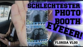 SCHLECHTESTER PHOTO BOOTH EVEEER! - Florida Vlog  AnKat