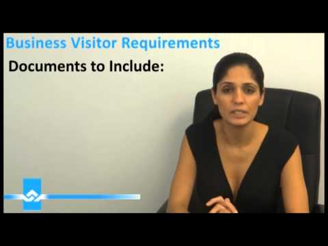 Business Visitor Requirements