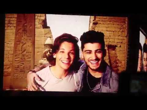One Direction concert introduction video & Midnight Memories -  'Where We Are' Tour 2014